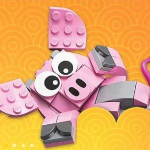 最后一天送金猪 及大电影三重礼折扣升级:LEGO®官网 元旦大量新品上市,促销区5折起,精选套装2倍积分