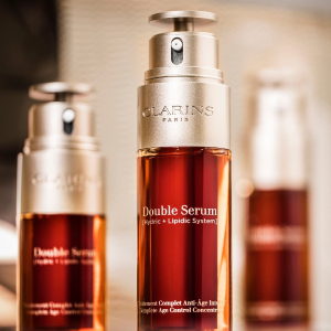 15% offDealmoon Exclusive: on Double Serum @ Clarins