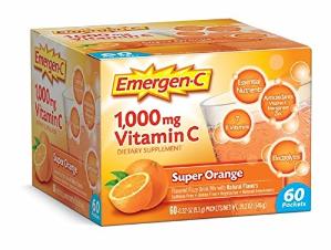 $13.53Emergen-C 橙子味日常维C补充剂 60包 2月量