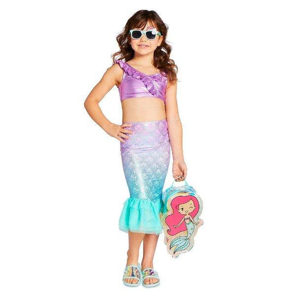 Ariel 造型 女童泳装3件套
