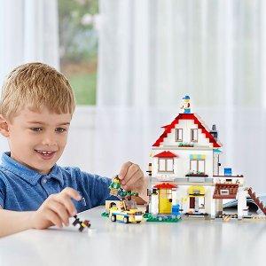 满额3重好礼LEGO乐高官网 创意百变系列热卖,1套=3套
