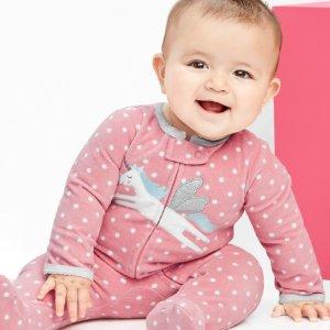 折扣升级:Carter's童装官网 低至1.5折+额外8折一年两次的大清仓
