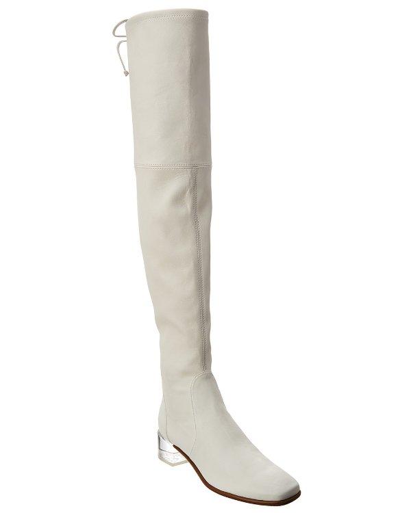 Charolet Leather 过膝靴