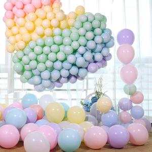 100支气球仅£6.99 (原价£15.99)马卡龙彩色乳胶气球限时闪购 俘获你的少女心