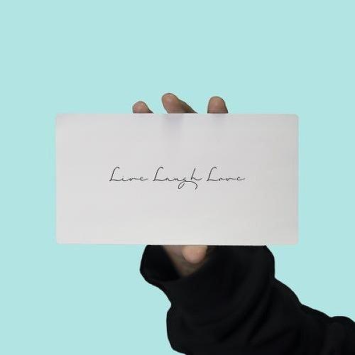 Live, Laugh, Love 墨印纹身