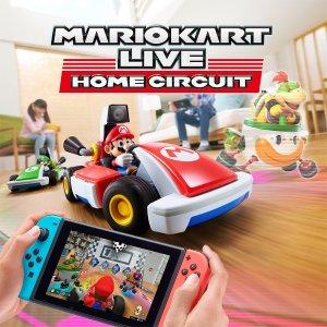 优惠价€144《马里奥赛车 Live》 Nintendo Switch AR赛车游戏 逗猫神器