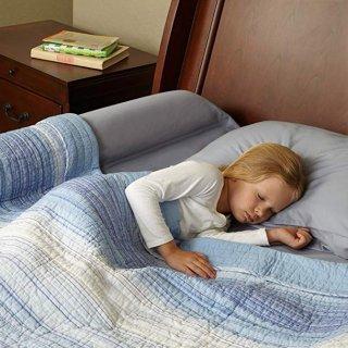 $24.92  美亚4.6超高分好评hiccapop 儿童床侧防护栏,舒适又安全