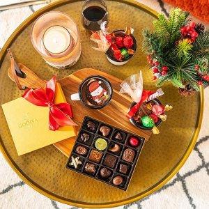 全场7折+满额免邮Godiva  精品巧克力大促 礼盒超值抢