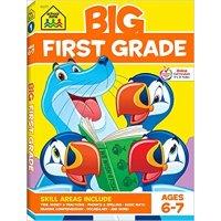 School Zone 一年级小朋友练习册,适合6-7岁