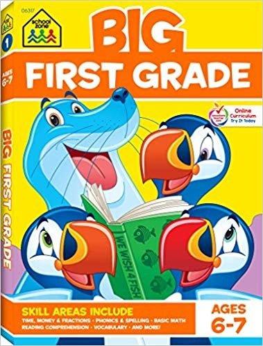 一年级小朋友练习册,适合6-7岁
