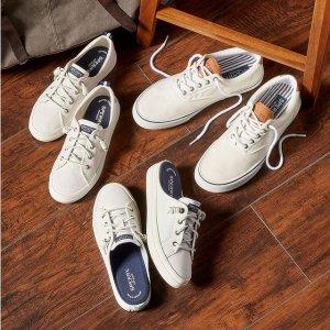 一律$29.99+免邮限今天:Sperry 舒适休闲鞋闪购 百搭好穿 秋季必备