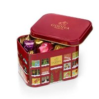Godiva 节日款 G Cube 巧克力铁盒15粒