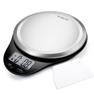 Digital Kitchen Scale with Dough Scraper