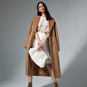 Navarra羊绒大衣立降$400+Max Mara 定价优势专场 泰迪大衣变相6.5折,收封面101801款