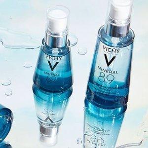 Vichy 薇姿护肤品热卖 收89号能量瓶、眼部精华 舒缓肌肤就靠它