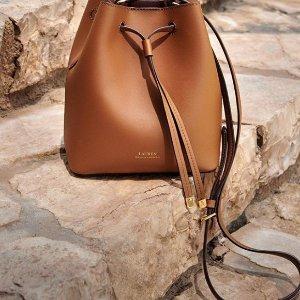 低至6折+额外7折 英伦复古风Lauren Ralph Lauren 美包超低价热卖