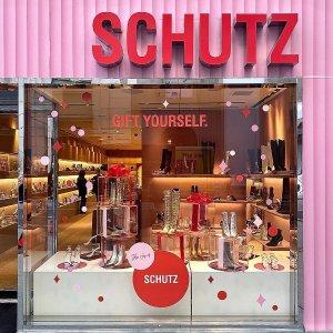 3折起+最高满减€74折扣升级:Schutz Shoes 精选美鞋打折收 秋冬过膝靴 夏日凉鞋都有