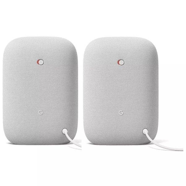 Nest Audio 智能音箱 2件套