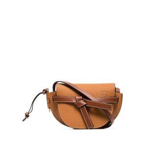 Loewebrown Gate mini leather shoulder bag
