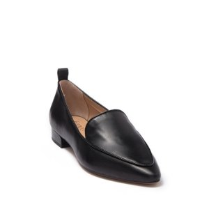Franco SartoStudio Pointed Toe Leather Loafer