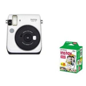 $55.99 (原价$83.83)Fujifilm instax mini 70 拍立得相机 + 20张相纸