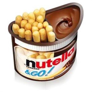 $19.99(原价$60)Nutella & GO 手指饼干蘸巧克力酱 24盒装