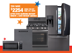 $2492Samsung Kitchen Appliances Set Special Buy @ The Home Depot