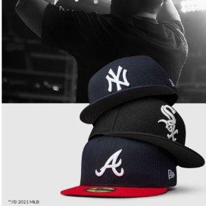 低至5折 £14收经典款NY帽即将截止:New Era官网 春季大促  NY、LA棒球帽明星钟爱 持续火爆