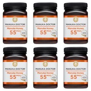Manuka Doctor55MGO 蜂蜜 500g  6罐装