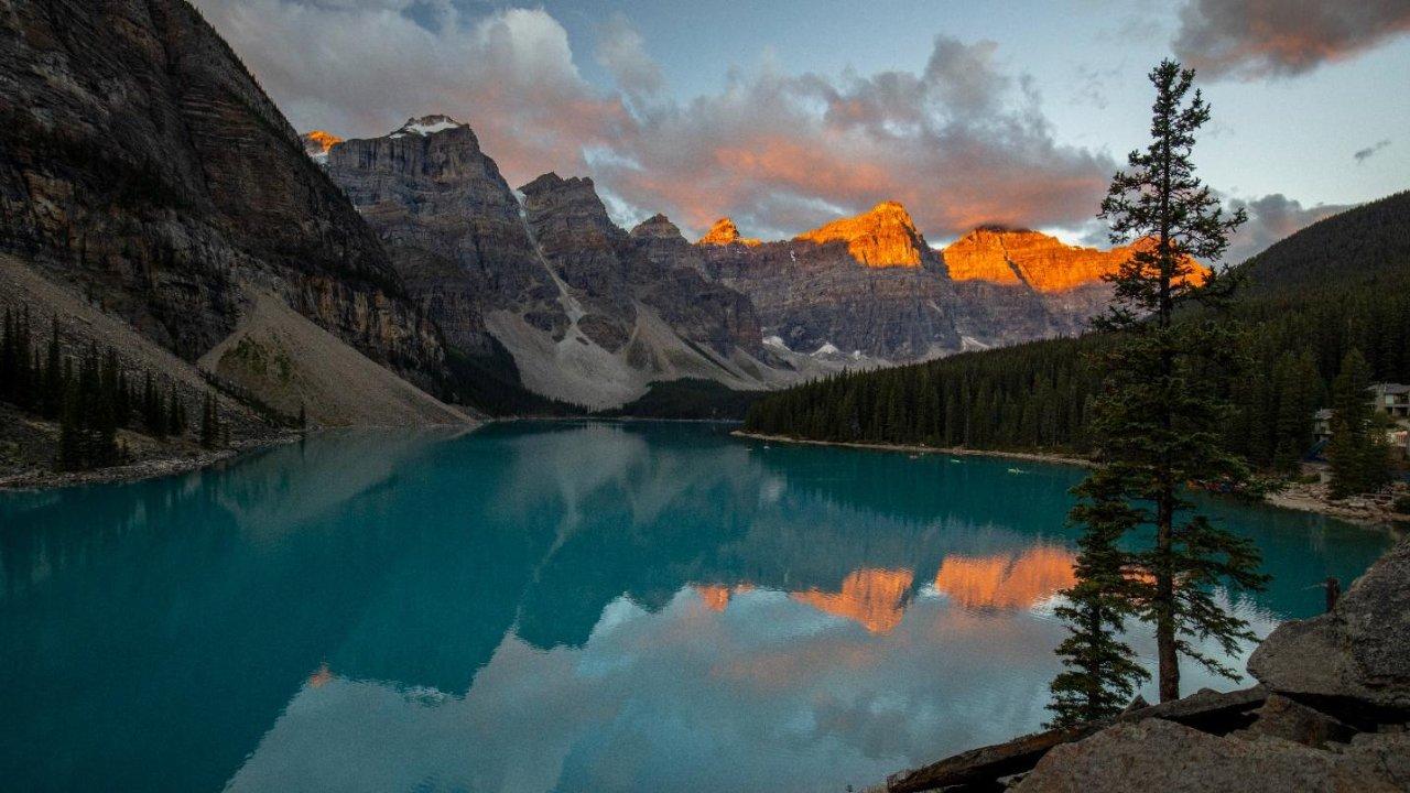 美加6个国家公园(Crater Lake,Mount Rainier,Jasper, Banff, Waterton Lake, Glacier)房车自驾游记
