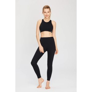 ZEN ZEN STUDIOAnkle Length Full Coverage Workout Leggings