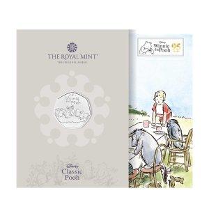 The Royal Mint预订,2-3周发货小熊维尼和朋友们纪念币