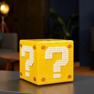 $199.99 10月1日上市新品预告:LEGO 超级玛丽系列 64 问号块 71395 内有乾坤 收纳yyds