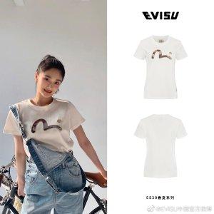 Evisu周琼洁同款T恤