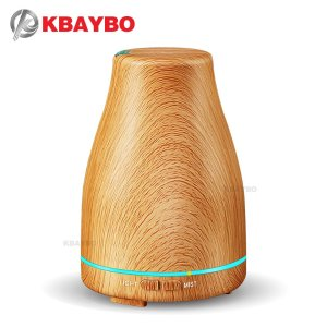 KBAYBO Ultrasonic Air Humidifier wooden grain Essential Oil Diffuser Aromatherapy Electric Diffuser Mist Maker humidify for home|mist maker|ultrasonic airair humidifier - AliExpress