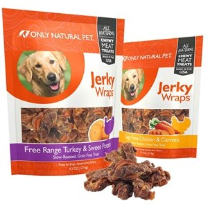 Buy One Get One Free! As low as $7.99Only Natural Pet Jerky Wraps Dog Treats