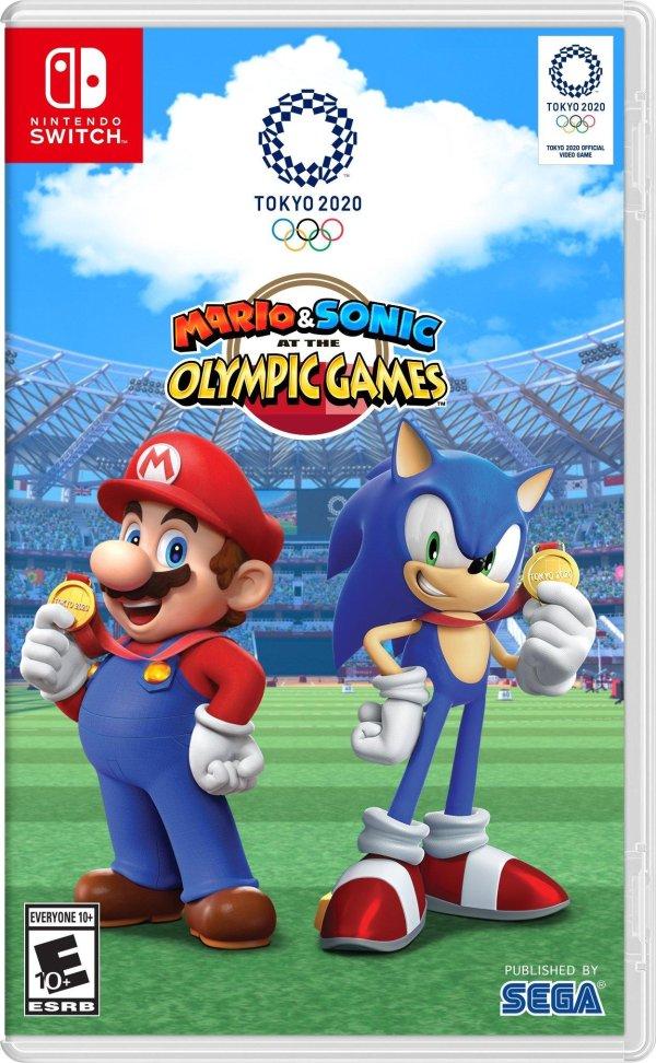 马里奥&索尼克 在东京奥运会 Switch 二手实体版