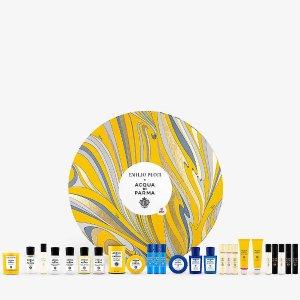 已发售 售价$770上新:Acqua di Parma x Emilio Pucci 2021圣诞限量倒数日历
