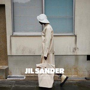 低至4.8折 €49收银质logo手镯Jil Sander简洁高级设计 极简风成新时尚