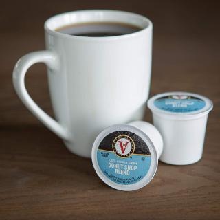 $14.32 一杯只需$0.18Donut Shop 中度烘焙 K-Cup 咖啡胶囊 80粒 6折促销
