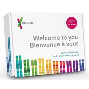 $129.99(原价$249)黒五价:23andMe祖源分析DNA检测服务+个人健康报告+90份详细线上基因报告