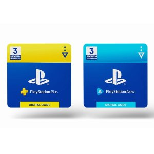 PlayStation Plus 3 Month & PlayStation Now 3 Month Bundle