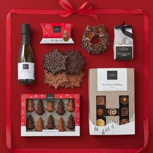 低至2.5折,£2.4入圣诞日历上新:Hotel Chocolat 高级质感巧克力品牌季末特惠中