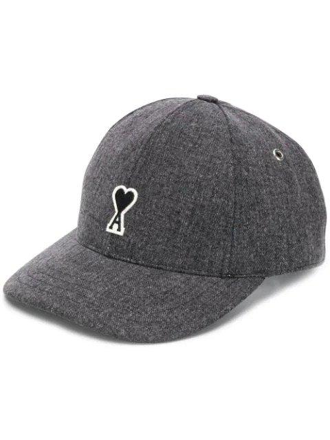 灰色logo棒球帽
