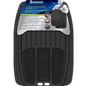$15.89(原价$39.99)Michelin 米其林汽车脚垫 两只装 原厂脚垫免受盐渍困扰