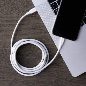 7.2折现价€9.82(原价€13.58)AmazonBasics 1.8米USB-C to Lightning数据线特价 3色可选