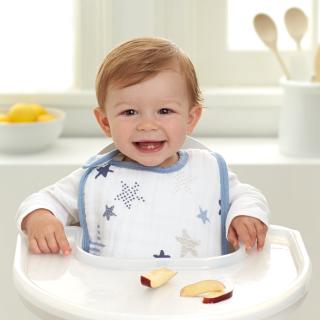 8折 + 低门槛包邮aden + anais 多款婴幼儿围兜优惠