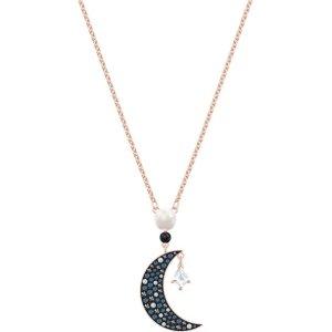 SwarovskiIU同款月亮吊坠项链