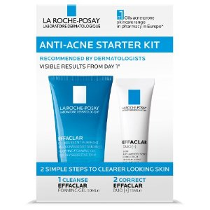 La Roche-Posay满$65减$10Effaclar 抗痘套装 50ml + 15ml