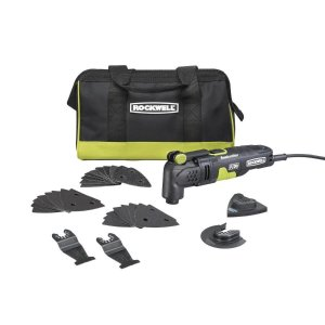 $49ROCKWELL Sonicrafter 32-Piece Corded 3.5-Amp Oscillating Tool Kit